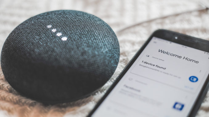 Hello, Google. Can you tell me how safe my connected home is? Image: Bence Boros.