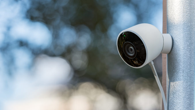 Security cameras have gotten much smarter, but where you place them can increase their effectiveness. Image: Digitized House Media.