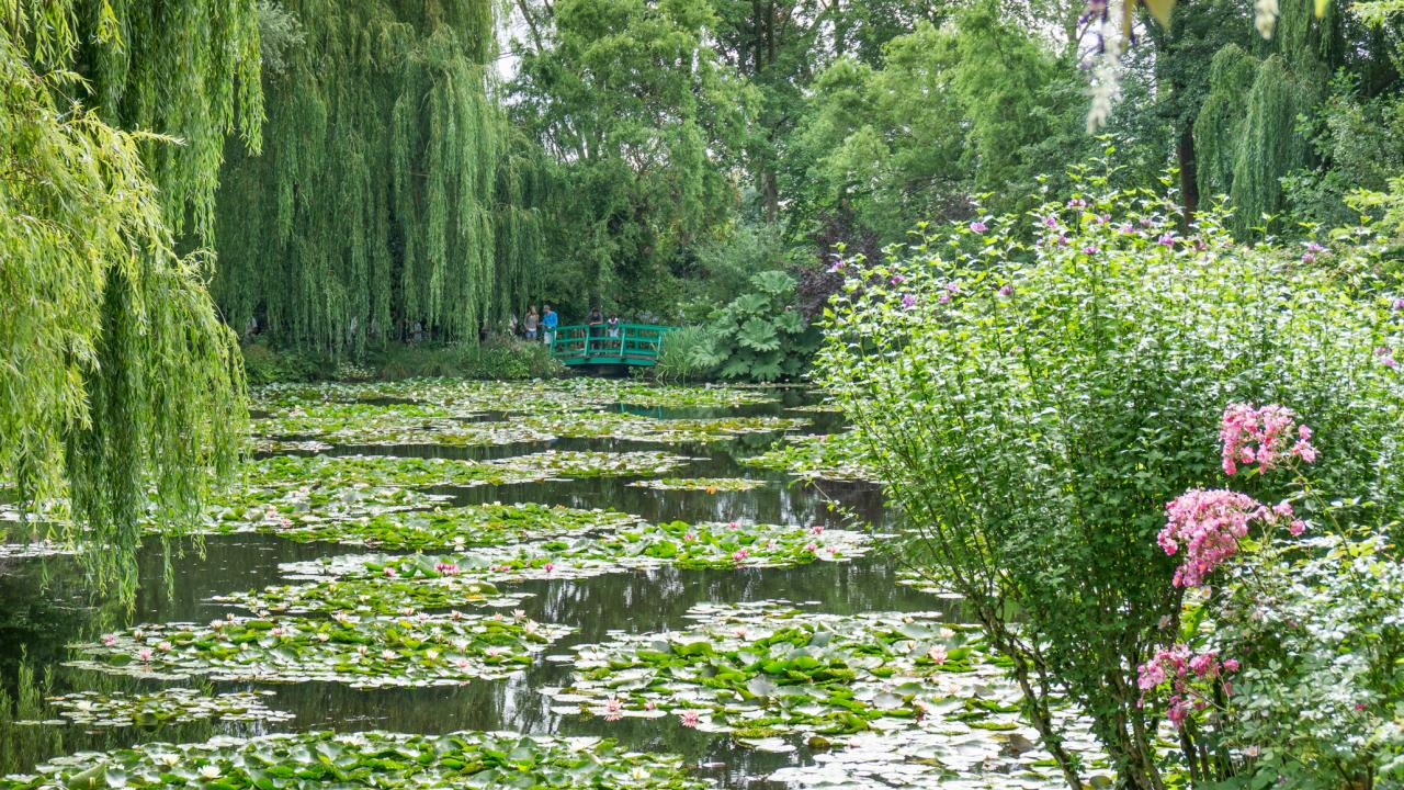 How does your garden grow? Claude Monet did not have the luxury of smart garden tech when he began growing the gardens in Giverny, France, that became famously immortalized in his paintings. But that should not stop you from trying new things in your garden. Image: Digitized House Media.