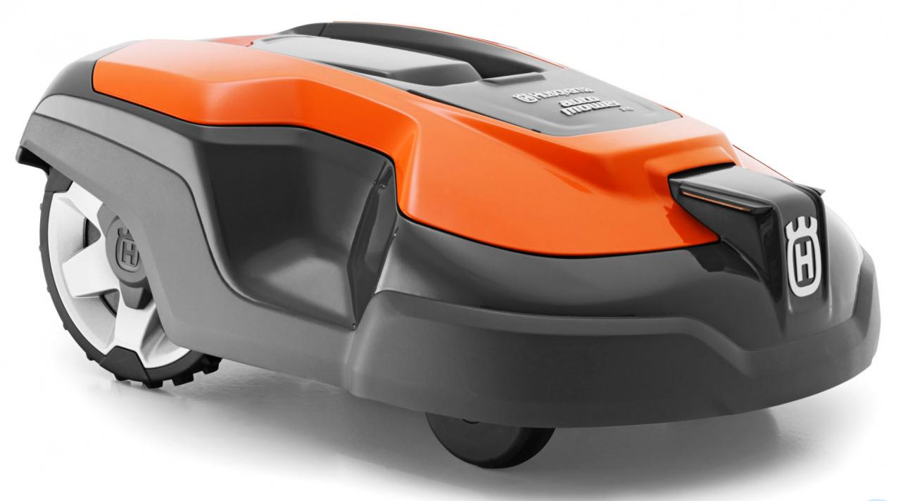 Designed to stealth around your yard unattended, the Husqvarna Automower 315X brings robotic prowess to your yard while it manicures the turf. Image: Husqvarna.