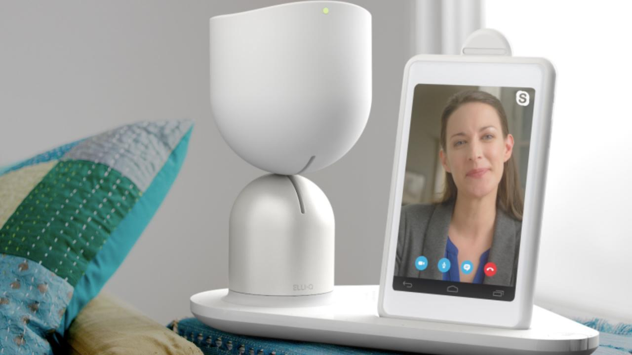 Designed with the elderly in mind, Elli-Q is a so-called social robot designed to encourage an active and engaged lifestyle. Image: Intuition Robotics.